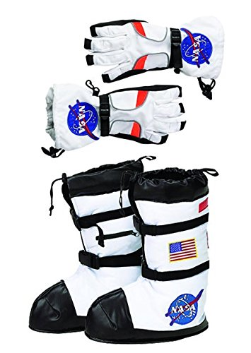 Aeromax Astronaut Boot and Glove Combo (2 Piece Bundle), Large