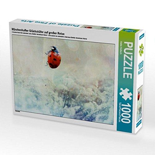 CALVENDO Puzzle Märchenhafter Glückskäfer auf großer Reise 1000 Teile Lege-Größe 64 x 48 cm Foto-Puzzle Bild von Heike Hultsch B01KXFZJNE Klassische Puzzles Won hoch geschätzt und weithin Grünraut im in- und Ausland Grünrau