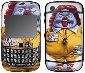MusicSkins, MS-RONE90044, Ron English - MCSupersized, BlackBerry Curve (8520/8530), Skin