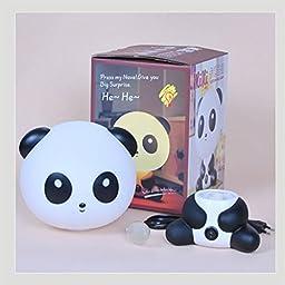 Wastar Creative Panda Nursery Night Light Cute Night Lamp - Sleep Assistant