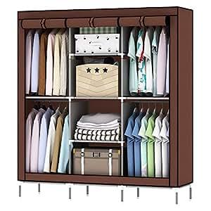 Amazon.com: OUMYJIA 69 pulgadas armario de almacenamiento ...