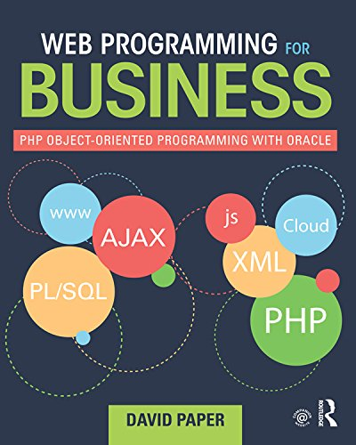 Web Programming for Business: PHP Object-Oriented Programming with Oracle Pdf