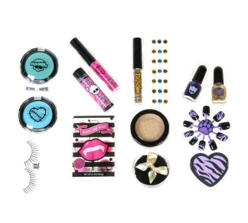 Monster High Scary Cute Beauty Set Licensed Mattel (Monster High Freaky Fusion Dress Up Games)