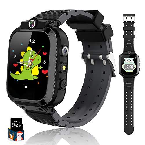 Kinderen Smart Watch 14 Games Muziek Stappenteller Dual Camera Wekker Zaklamp Kinderhorloge Jongens en meisjes…
