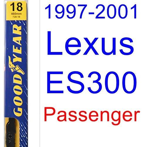 1997-2001 Lexus ES300 Wiper Blade (Passenger) (Goodyear Wiper Blades-Premium) (1998,1999,2000) hot sale