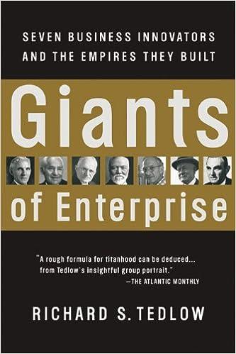 """كتاب """"Giants of Enterprise: Seven Business Innovators and the Empires They Built"""""""