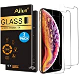 AILUN Screen Protector Compatible with Apple iPhone Xs Max (6.5 inch 2018 Release),[3 Pack],0.33mm Tempered Glass Anti-Scratch,Advanced HD Clarity Work Most Case