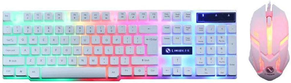 Teclado y Mouse TX30 Teclado De Ordenador De Colores Teclado ...