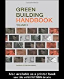 Green Building Handbook, Tom Woolley and Sam Kimmins, 0419253807