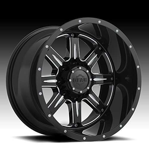 Gear Alloy 726BM BIG BLOCK Wheel with Milled Finish (20x12