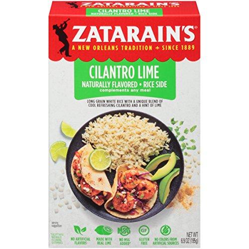 - Zatarain's Cilantro Lime Rice Mix, 6.9 oz (Pack of 12)