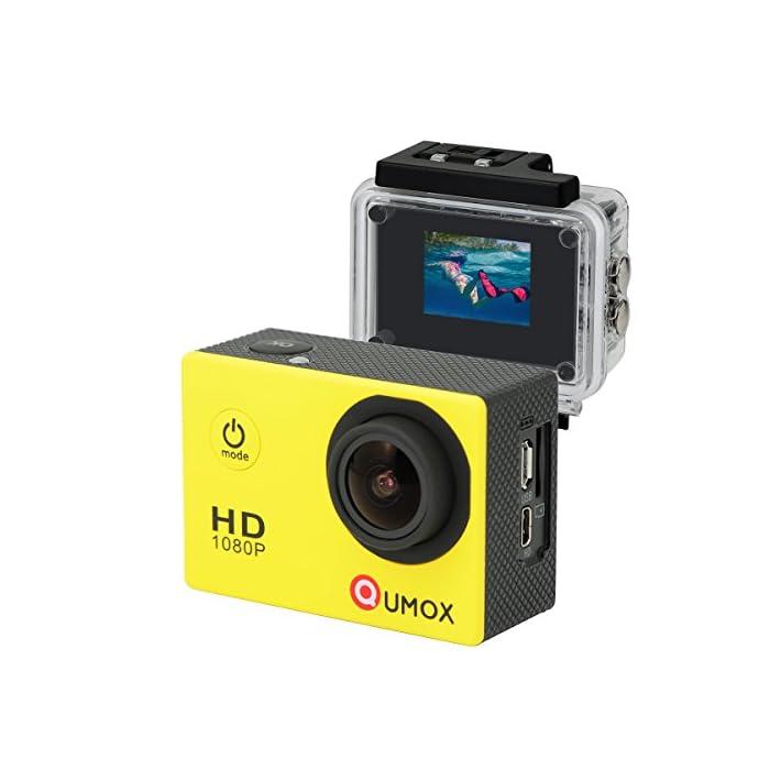 QUMOX SJ4000 – Cámara de Deporte para Casco