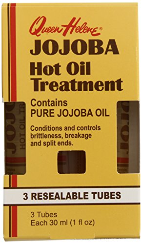 Queen Helene Hot Oil Treatment, Jojoba, 3-1 Ounce (Pack of 6) [Packaging May Vary]