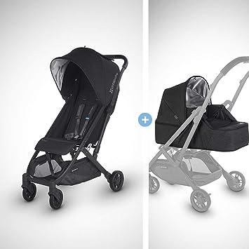 ae4b5485f4696 Amazon.com   MINU Stroller from Birth Kit - Jake (Black Melange Carbon Black  Leather)   Baby