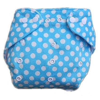 Hot Baby Infant Impreso pañal pañales de tela (lavable Pañal reutilizable Insertos Bluepoint