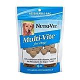 Nutri-Vet Multi-Vite Soft Chews for Dogs, 6-Ounce, My Pet Supplies