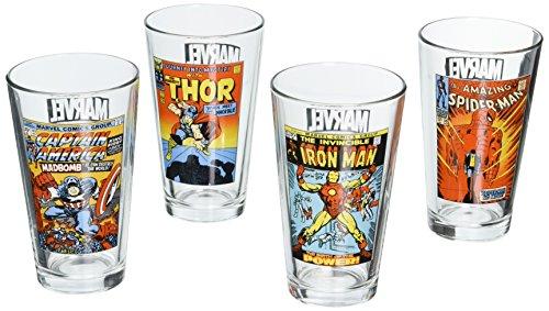marvel pint glasses - 7