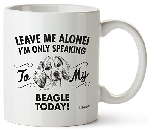 Beagle Mom Gifts Mug For Christmas Women Men Dad Decor Lover Decorations Stuff I Love Beagles Coffee Accessories Talking Art Apparel Funny Birthday Gift Home Supplies Products Dog Coffee Cup Mugs