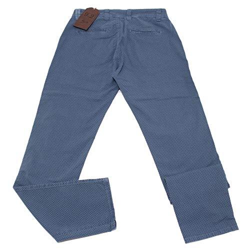 Light CHIONNA uomo Trouser CARLO 4995X Pantalone Azzurro Man Blue 2 9 Cotton 4wqYx6EgWn