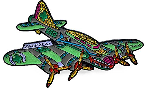 - Dab BHOmber Airplane Heady Hat Pin by Dabbin Dan
