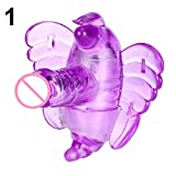 Butterfly Vibrator Strap On G-Spotger Wireless Control Vibrating Sex Toy - Pink