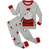 Dolphin&Fish Boys Christmas Pajamas Kids Pjs Sets Cotton Toddler Clothes Children Sleepwear