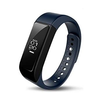 iWOWNfit i5 Plus Fitness Tracker Smart Bracelet Band with Deep/Light Sleep  Monitor and Call Text