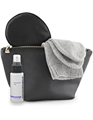 Jet&Bo Womens Luxury Amenity Kit: Cashmere Socks, Silk Eye Mask, Facial Mist