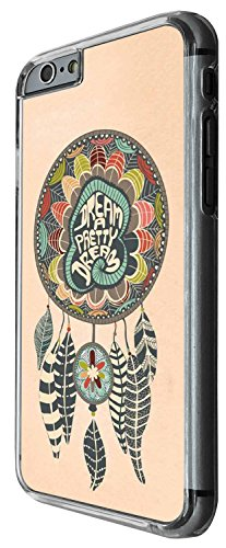 1329 - Cool Fun Trendy cute kwaii feathers dream catcher Design iphone 5 5S Coque Fashion Trend Case Coque Protection Cover plastique et métal - Clear