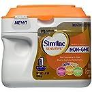 Similac Sensitive Non-GMO Infant Formula, ReadyPac Tub, Powder, 22.6 Ounces