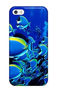 High Impact Dirt/shock Proof Case Cover For Iphone 5/5s (fish And Screensavers )