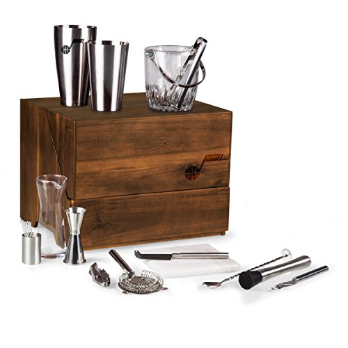 NBA Utah Jazz Madison 19-Piece Tabletop Bar Set by PICNIC TIME