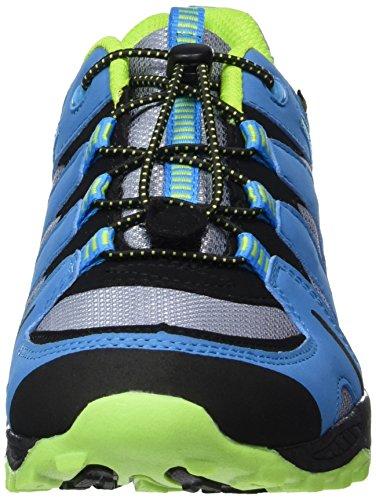 Lico Fremont, Zapatos de Low Rise Senderismo Unisex Niños Grau (GRAU/BLAU/LEMON)