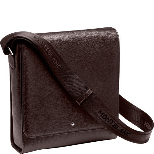 Montblanc Meisterstuck Brown Leather City Bag 114456 (Bags Blanc Mont)