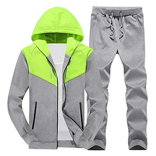 Amazon.com: Men Tracksuits Outwear Hoodies Zipper Sportwear Sets Male Sweatshirts Cardigan Men Set Clothing+Pants: Arts, Crafts & Sewing
