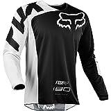Fox Racing 180 Race Men's Off-Road Jersey - Black/X-Large