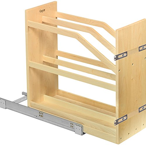 Century Components Base Cabinet Cookie Tray Pull Out Solid Maple 9