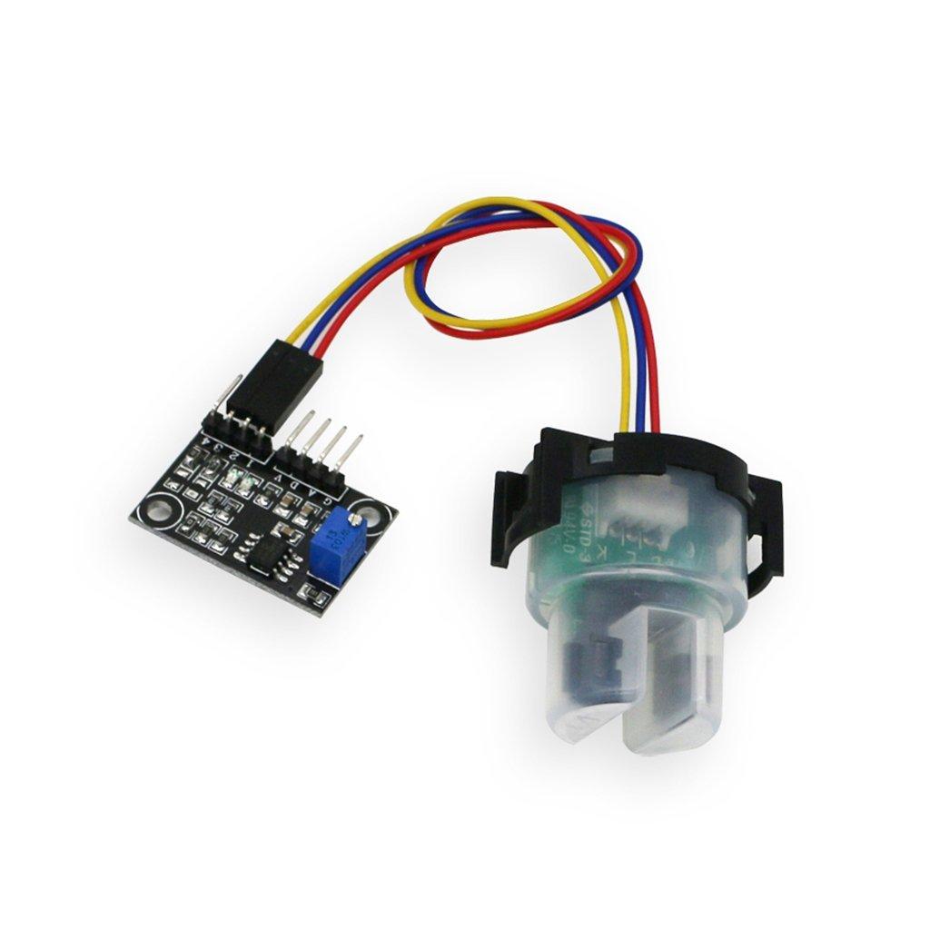 1 juego de módulo de sensor de turbo, voltaje de funcionamiento: 5 ...