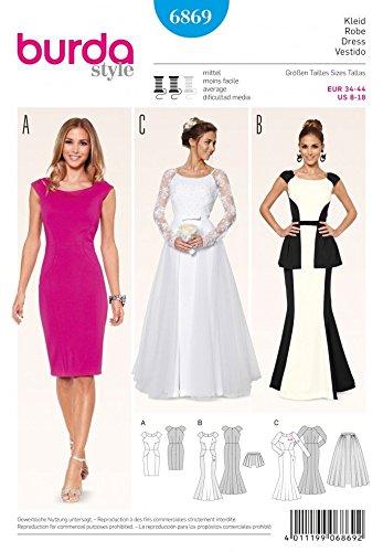 Burda Ladies Sewing Pattern 6869