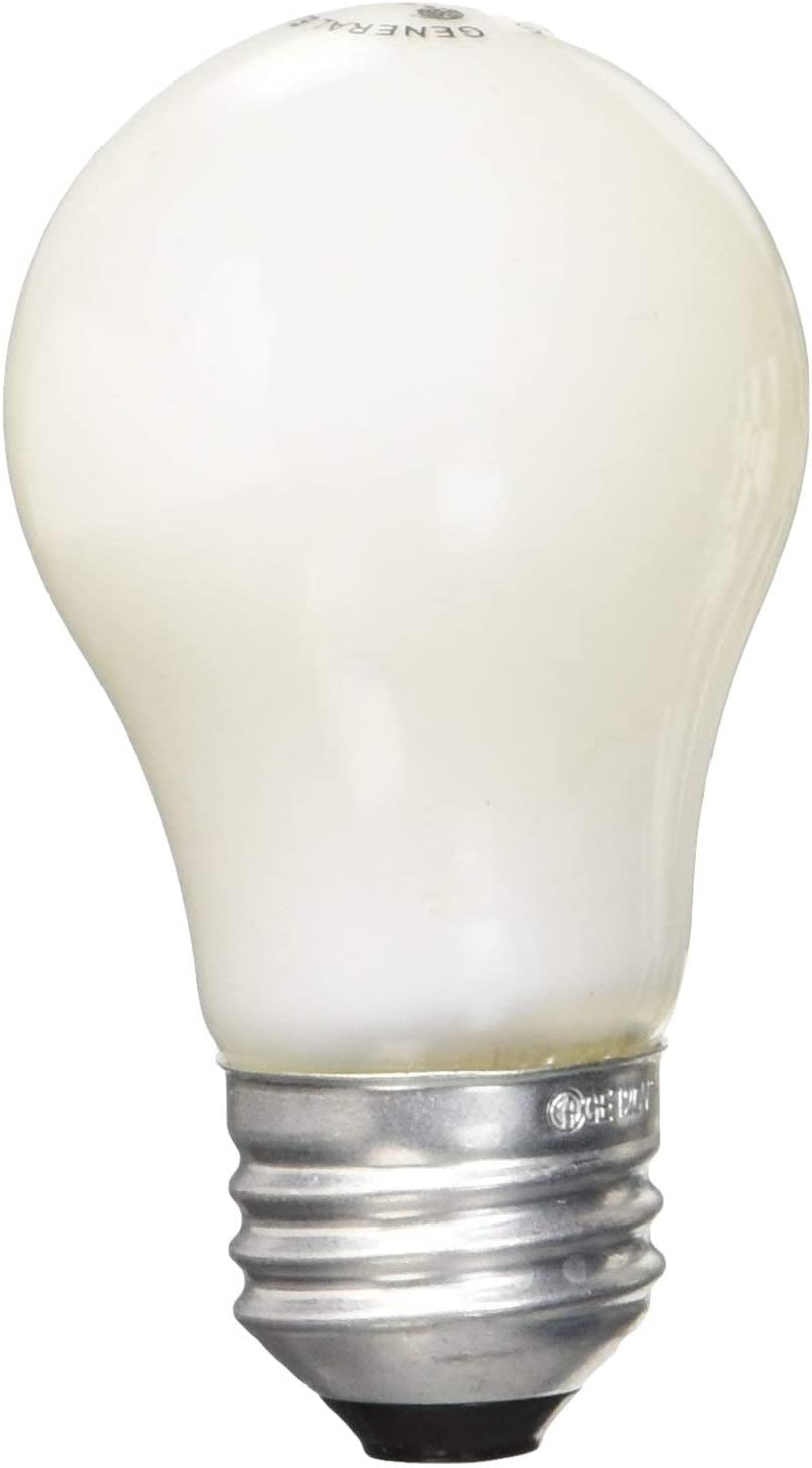 GE Lighting 15 Watt A15 Soft White Light Bulb (8 Pack)