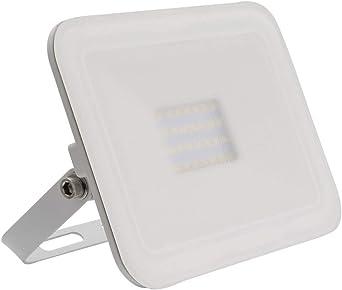 Foco Proyector LED Slim Cristal 20W Blanco Blanco Cálido 3000K ...
