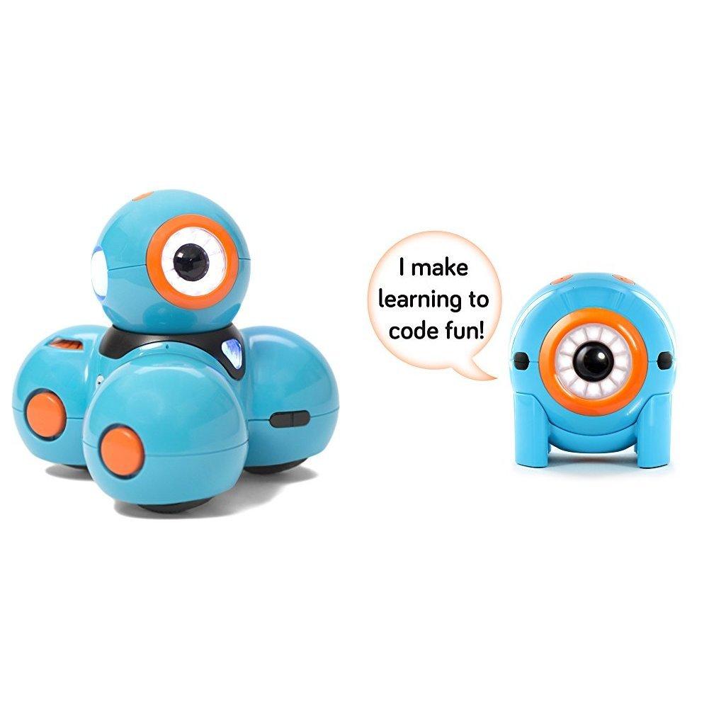 Wonder Workshop Dash Robot with Wonder Workshop Dot Robotics Kit Bundle