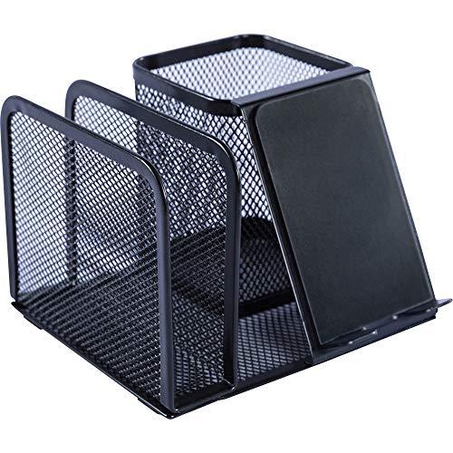 - Lorell Black Mesh/Wire Desktop Organizer, 5.1