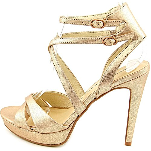 Chinese Laundry Womens Highlight Open Toe Ankle Strap, Rose Gold, Size (Laundry Open Toe Heels)