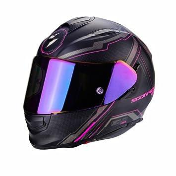 Scorpion - Cascos Moto Exo 510 Air Sync Negro Mate Rose: Amazon.es: Coche y moto
