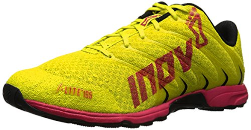Inov-8 Women's F-Lite 195 Cross-Training Shoe, Lime/Berry/Black, 7 M US by Inov-8