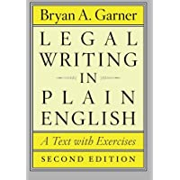 Legal Writing in Plain English, Second Edition: A Text with Exercises
