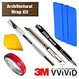 VViViD Detailer Vinyl Car Wrap Tool-Kit (Architectural Wrap Kit)