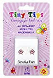 STUDEX Tiny Tips Sterling Silver Pink Star Stud