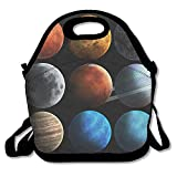 Kooiico Solar System And Space Objects Elements Of This Image Furnished By Nasa Best Graphic Lunch Tote Lunch Bag Office Reusable